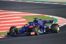 Brendon Hartley completed 159 laps on Friday