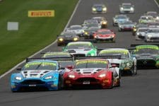 British GT - 2017 Donington Park Race Start