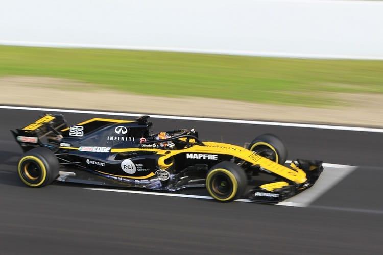 Carlos Sainz Jr. was sixth fastest on Thursday