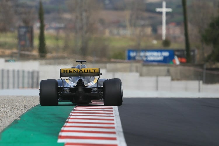 Renault completed 148 laps on Thursday