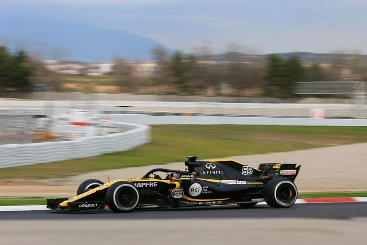 Renault has confidence heading into the new season after a positive pre-season testing programme