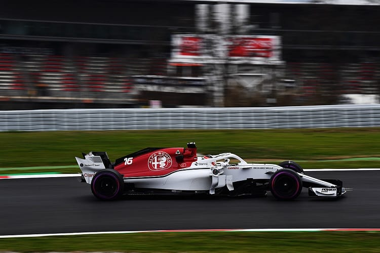 Both Sauber drivers were positive after the first pre-season test