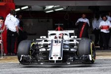 Sauber had a positive first test, according to Frédéric Vasseur