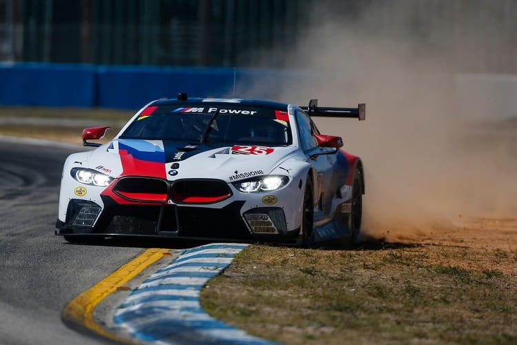 Connor de Phillippi took pole position for BMW
