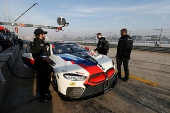 The #25 BMW M8 GTLM will start from GT Le Mans pole of Saturday