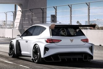 Rendering of the new Cupra e-Racer