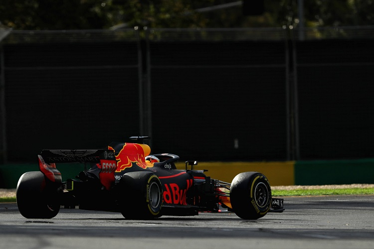 Daniel Ricciardo finished fourth in Australia