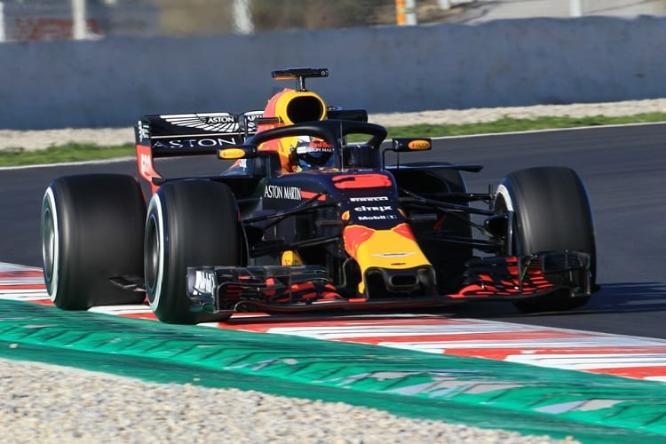 Daniel Ricciardo was fastest on day two
