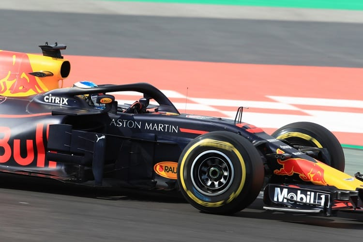 Daniel Ricciardo completed 92 laps on the final day of pre-season testing