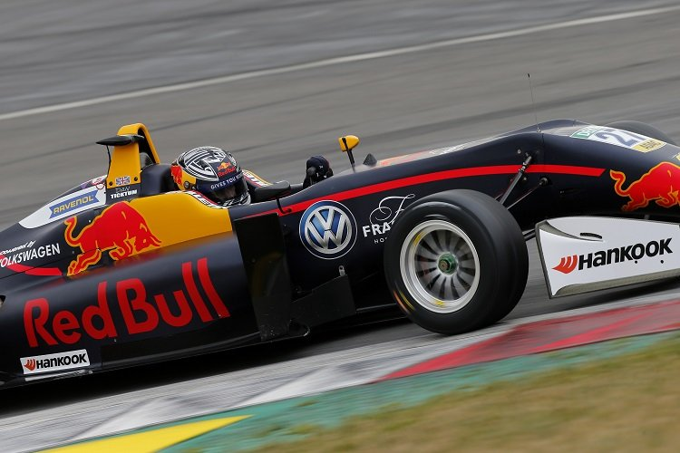 Daniel Ticktum was fastest on day one