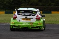 Dennis Strandberg / Team Parker Racing with Maximum Motorsport / Ford Focus / Croft / BTCC
