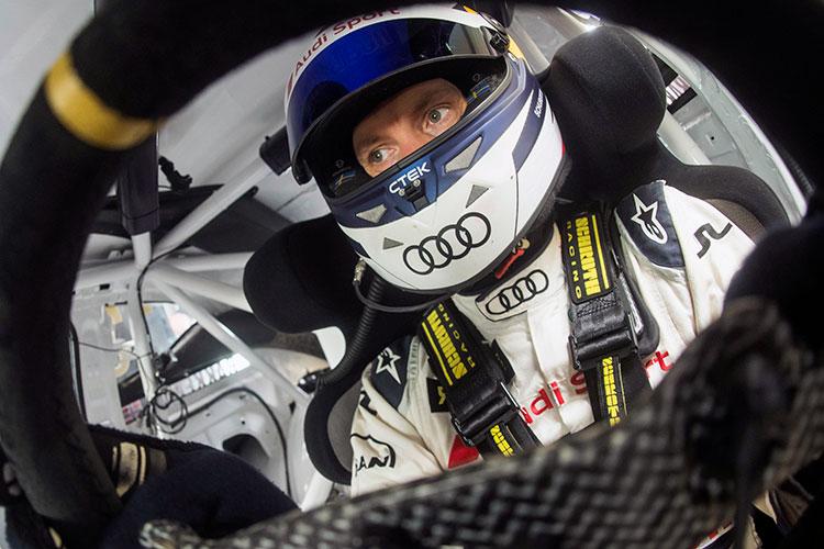 Mattias Ekstrom - EKS Audi Sport