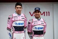 Esteban Ocon does not believe they'll be any on-track issues with team-mate Sergio Perez in 2018