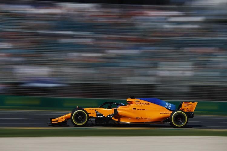 Fernando Alonso was fifth in Australia