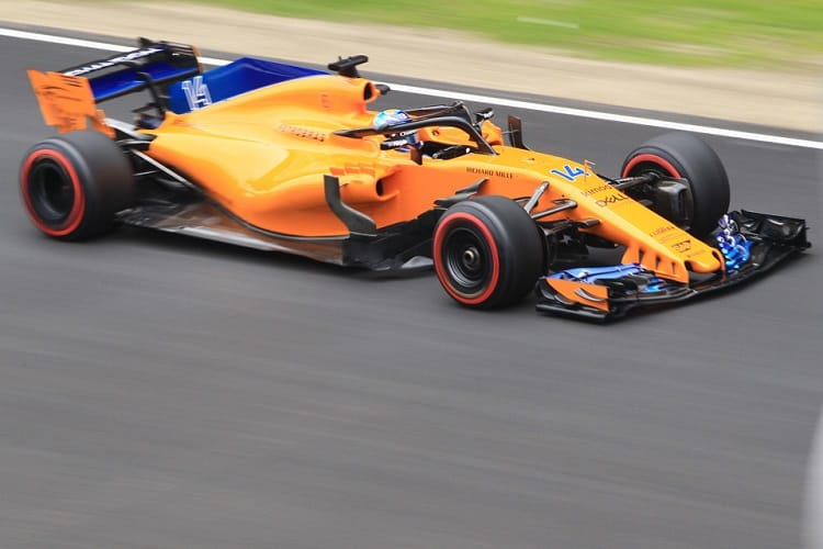 Fernando Alonso was fifth fastest on Thursday