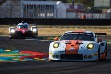 Gulf Racing Porsche 911 GT3 RSR, 2017 24 Hours of Le Mans