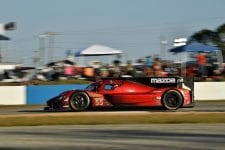 Harry Tincknell was on course for a podium at Sebring before trouble struck at the last pit stop