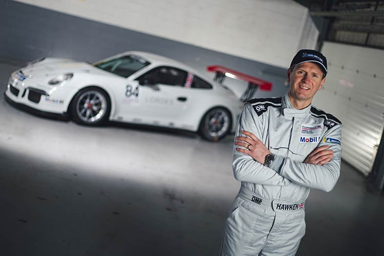 Richard Hawken - DVF Racing with Slidesports