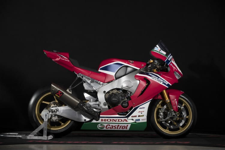 Honda Racing unveil 2018 Livery