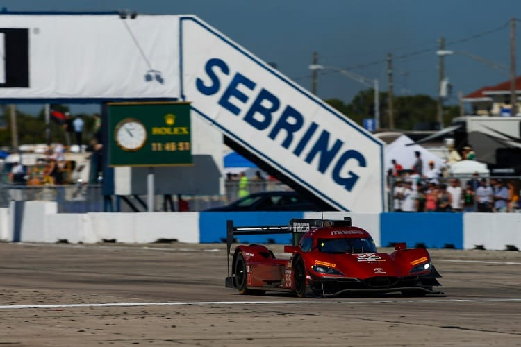 Mazda Team Joest leads at Sebring