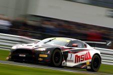 Jonny Adam- Aston Martin V12 Vantage GT3 at Oulton Park