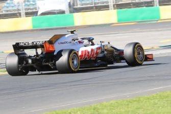 Kevin Magnussen ended ninth fastest on Friday afternoon