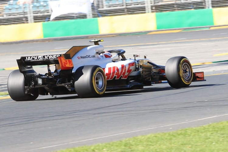 Kevin Magnussen ended ninth fastest on Friday afternoon