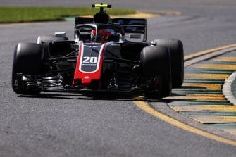 Kevin Magnussen will start fifth in Australia