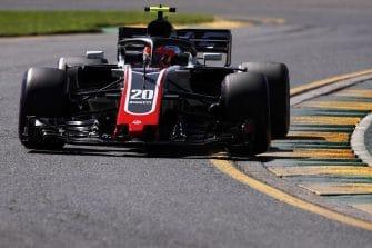 Kevin Magnussen will start fifth in Australia