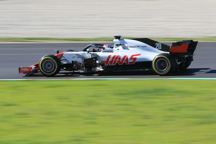 Kevin Magnussen was sixth fastest on Thursday