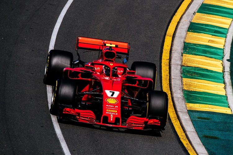 Kimi Raikkonen was fourth fastest in both Friday practice sessions