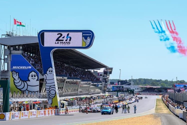 2017 24 hours Le Mans race start