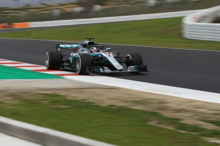 Lewis Hamilton was quickest during last weeks first pre-season test