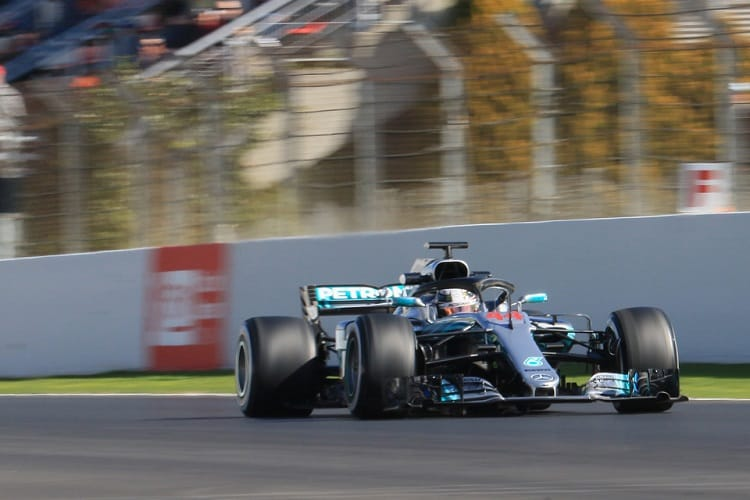 Vettel fastest in F1 testing