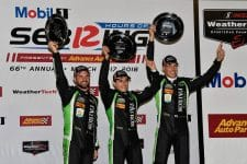 Tequila Patron ESM celebrate victory at Sebring
