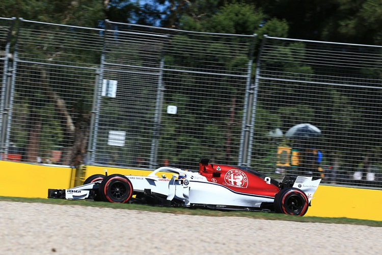 Marcus Ericsson was happy with his pace during the early laps of the Australian Grand Prix