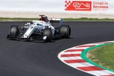 Marcus Ericsson completed 120 laps on Tuesday