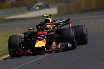 Max Verstappen will start fourth in Australia