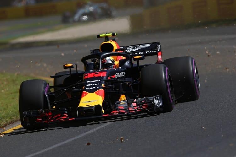 Max Verstappen will start fourth in Australia