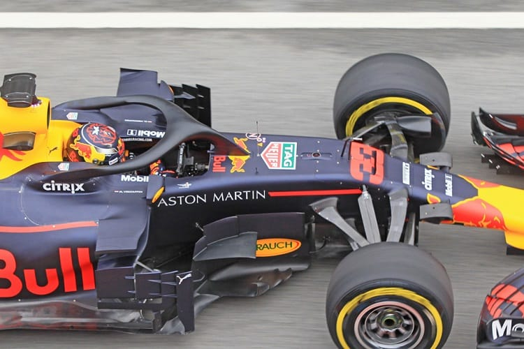Max Verstappen completed only 35 laps on Thursday