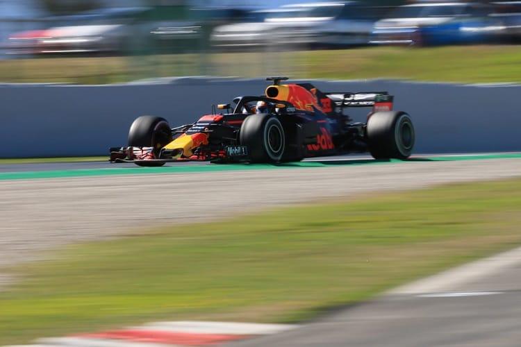 Max Verstappen was third quickest on Tuesday