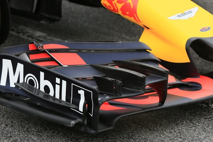 Red Bull is the only team not to use the same fuel as their engine suppliers