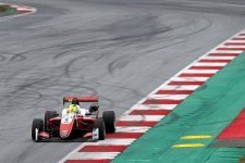 Mick Schumacher was quickest on day two in Austria