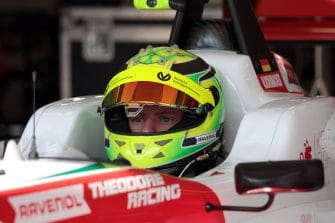 Mick Schumacher was fastest on day one in Hungary
