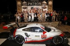 Porsche came out on top in the GT Le Mans class