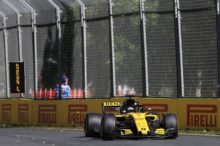 Renault saw both cars score points in Australia