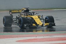 Renault hope for better weather in test two