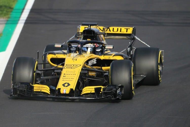 Nico Hulkenberg finished fourth fastest on Thursday