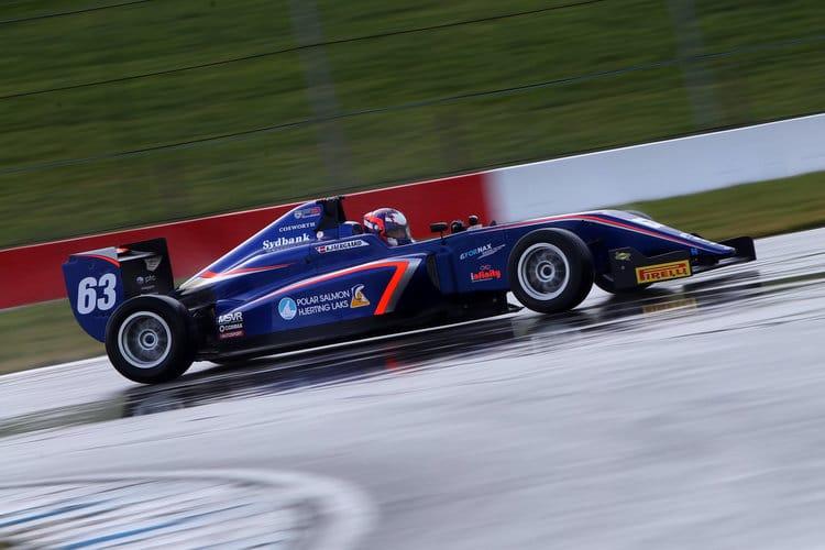 Nicolai Kjaergaard - Carlin - BRDC F3
