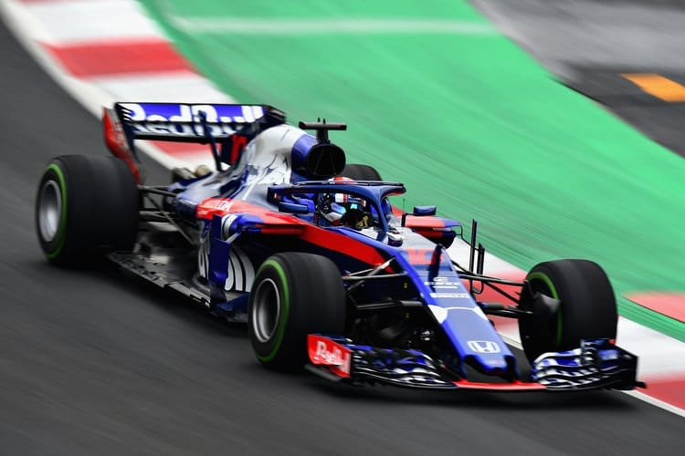 Pierre Gasly ended tenth fastest on Thursday
